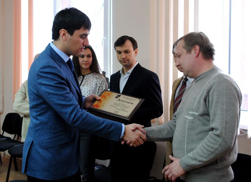 Победители конкурса получили заслуженные награды и дипломы от городского головы.