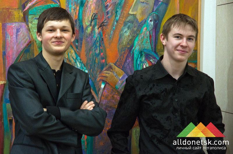 Александр Букин и Константин Сидко