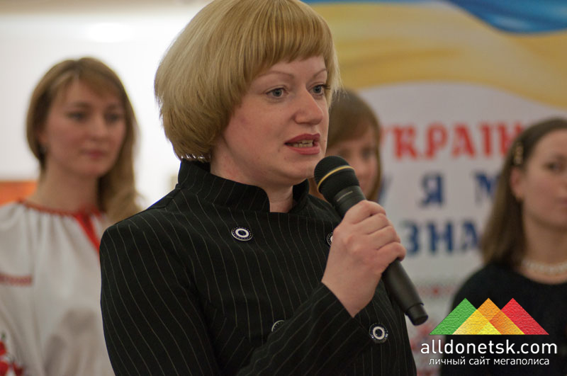 Начальник Управления по делам семьи, молодежи и международных связей Донецкого городского совета Ольга Цесельская
