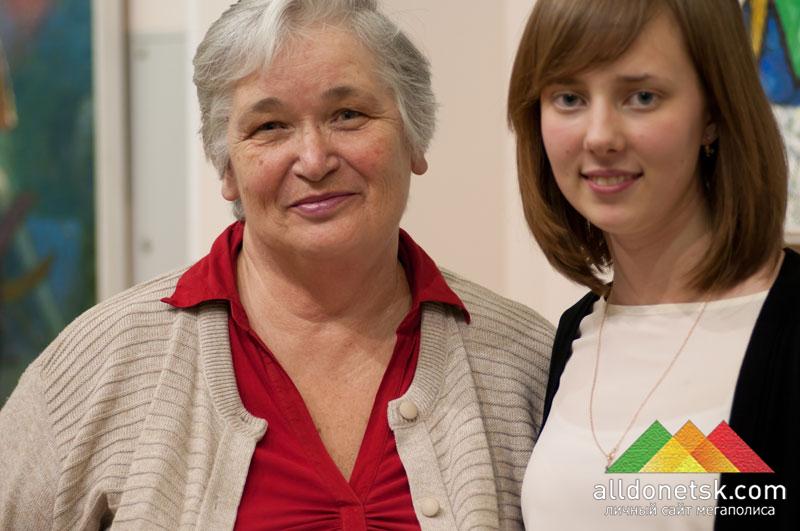 Профессор музыкальной академии Татьяна Леонидовна Моргунова с юной воспитанницей Марией Батуриной