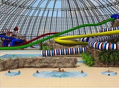 Аквапарк: Фрагмент проекта