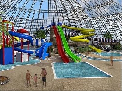 Аквапарк: Проект бассейна