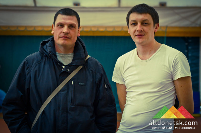 Болельщик и участник Андрей Маханьков