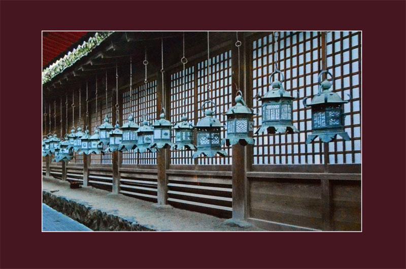 Даже фонари у японцев отличались особой вычурностью и стилем