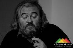 Поэт Дмитрий Бураго в Донецке