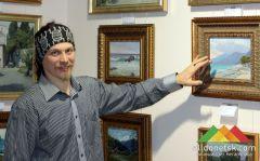 Выставка работ харьковских художников в ВЦ