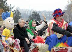 В парке им.Щербакова прошла главная Масленица Донецка