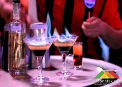Презентация фирменного коктейля от ФК