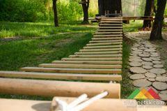 В Донецке открылся веревочный парк