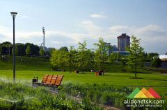 Весна в Донецке: Городской парк культуры и отдыха