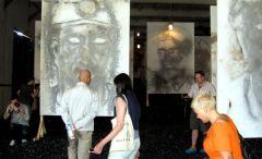 Открытие выставки Цая Гоцяна. Часть 1