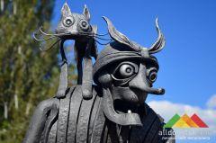 В Донецке прошел ХIII Международный фестиваль кузнечного мастерства